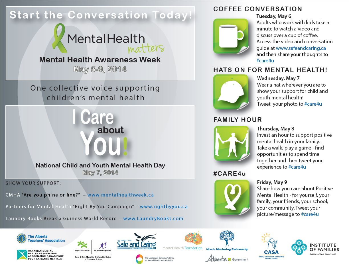 Mental Health Awareness Week May 5 9