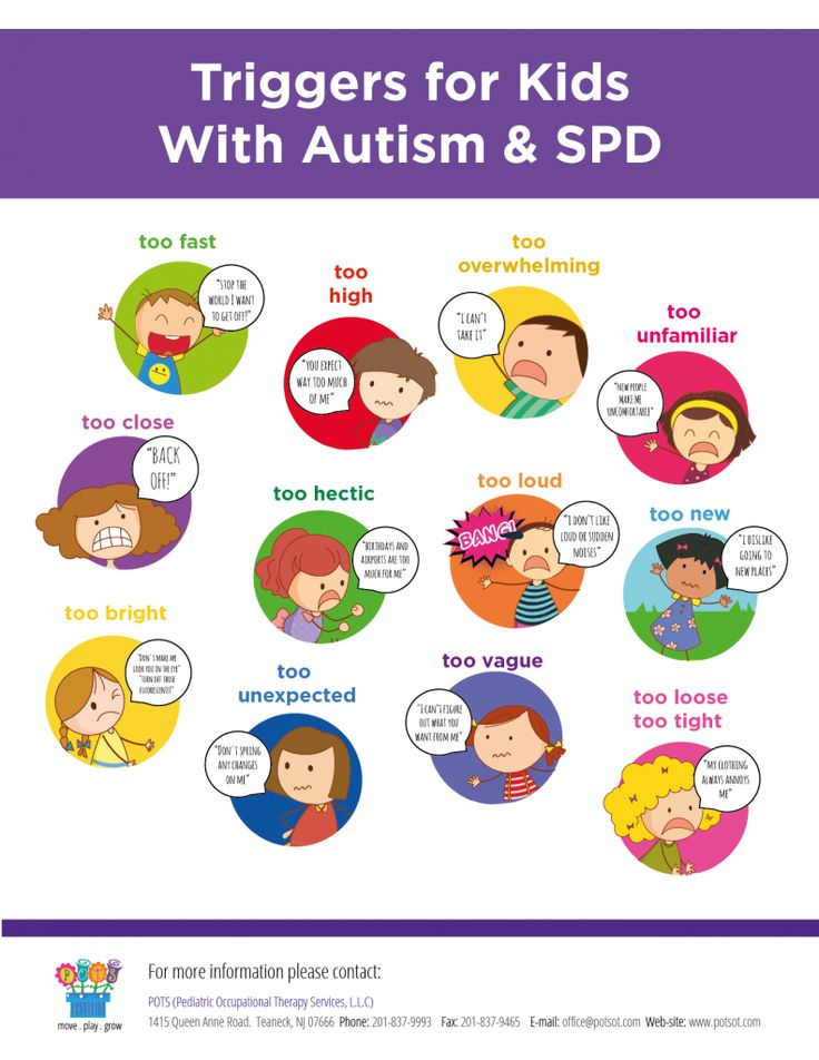 Fun Learning Toys For People With Autism : Triggers for children with autism and sensory processing