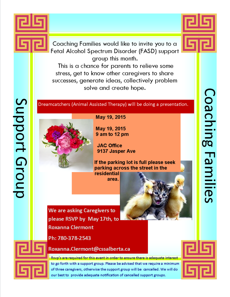 Coaching May 2015 Flyer