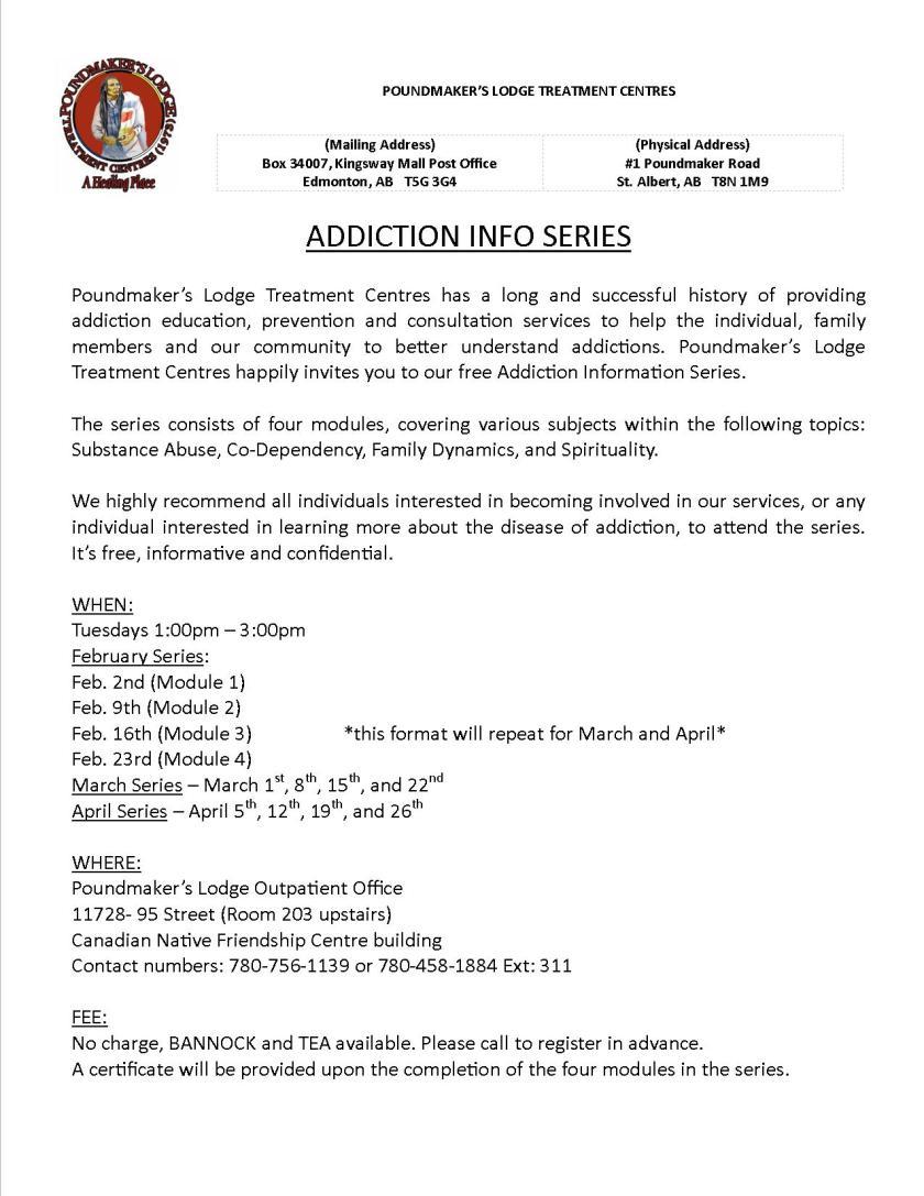 Addiction Info Series