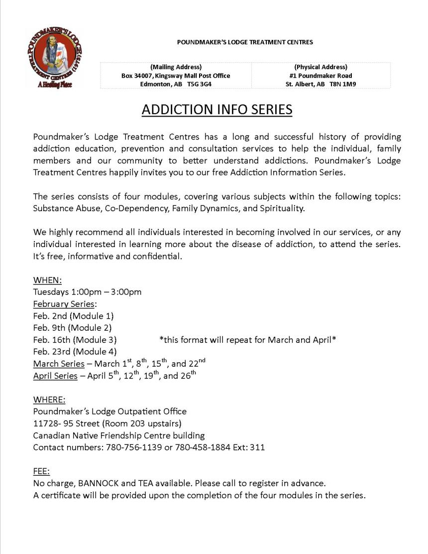 Addiction Info Series