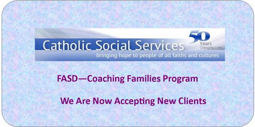 Coaching Families Program - Referral