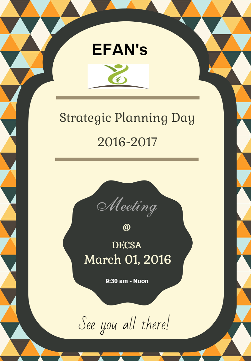 Strategic Planning Day 2016