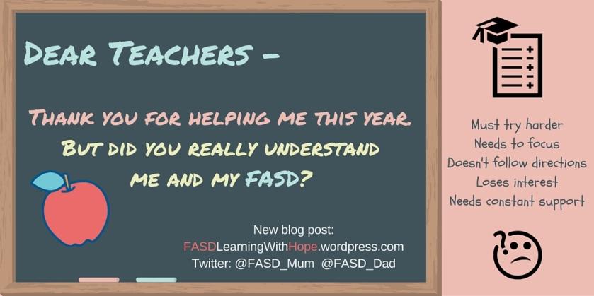 Dear Teacher -