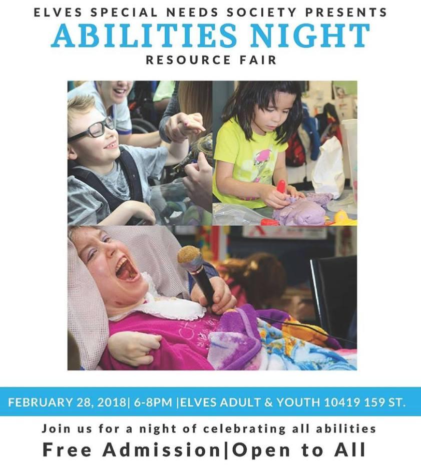 Abilities night