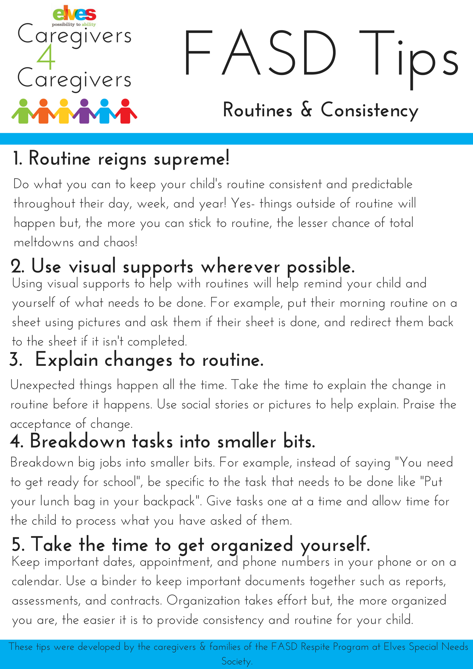routines and consistency tip sheet  u2013 edmonton and area fetal alcohol network society