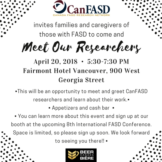 The Canada FASD Research Network invites families and caregivers of those with FASD to come Meet Our Researchers.jpg